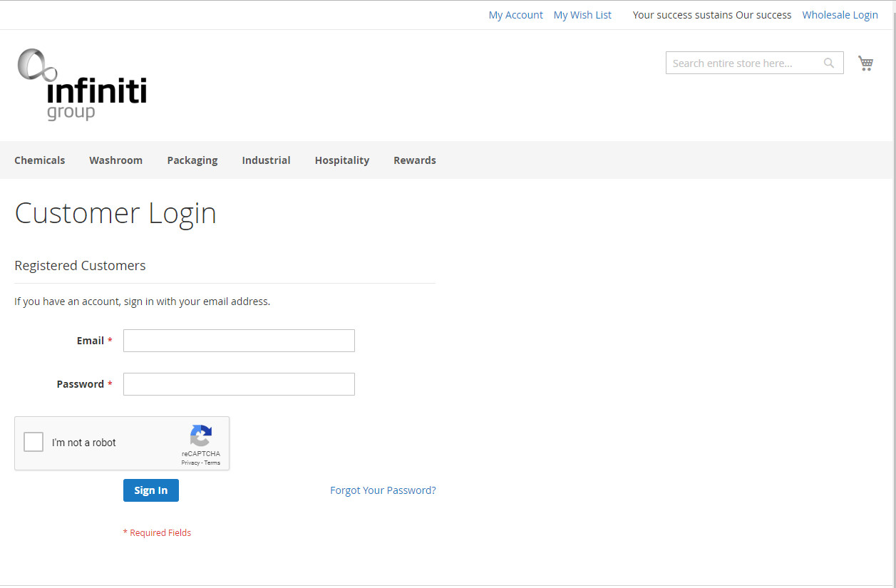 IGAU Website Customer Login
