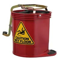 Red Mop Bucket